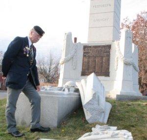 cenotaph vandalism